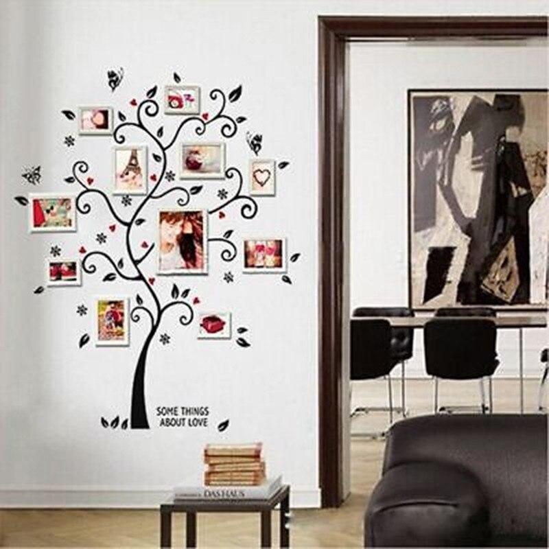 Family Tree Removable Wall Sticker Vinyl Decal Home Decor: Tree Removable Decals Room Wall Stickers Vinyl Art DIY