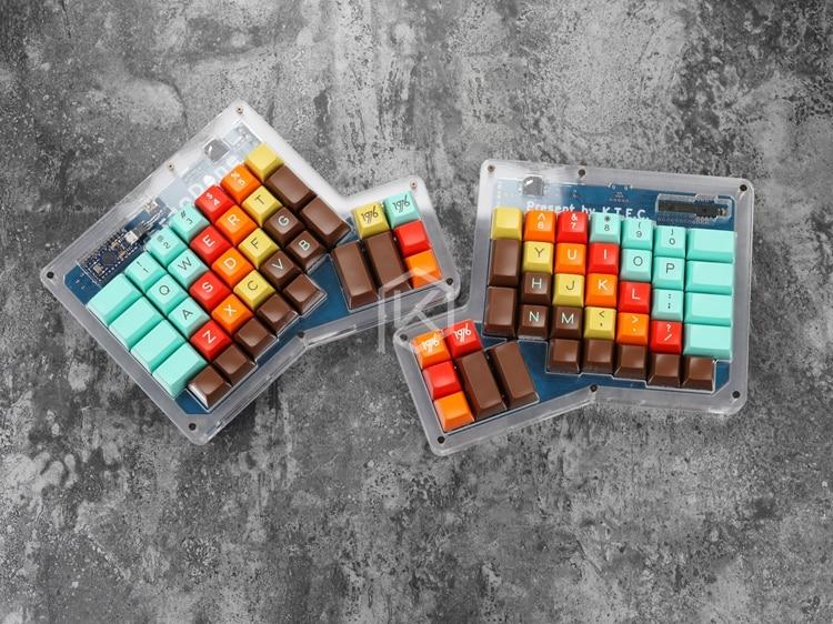 Image 2 - ergodone ergo Custom Mechanical Keyboard  TKG TOOLS PCB   programmed Ergonomic Keyboard Kit similar with infinity  ergodoxmechanical keyboardkeyboard kitergonomic keyboard