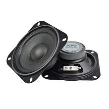 Aiyima 2 Stuks 4Inch 2Ohm 10W Draagbare Audio Speaker Subwoofer Diy Home Theater Sound Systeem Voor Bluetooth Luidspreker luidspreker