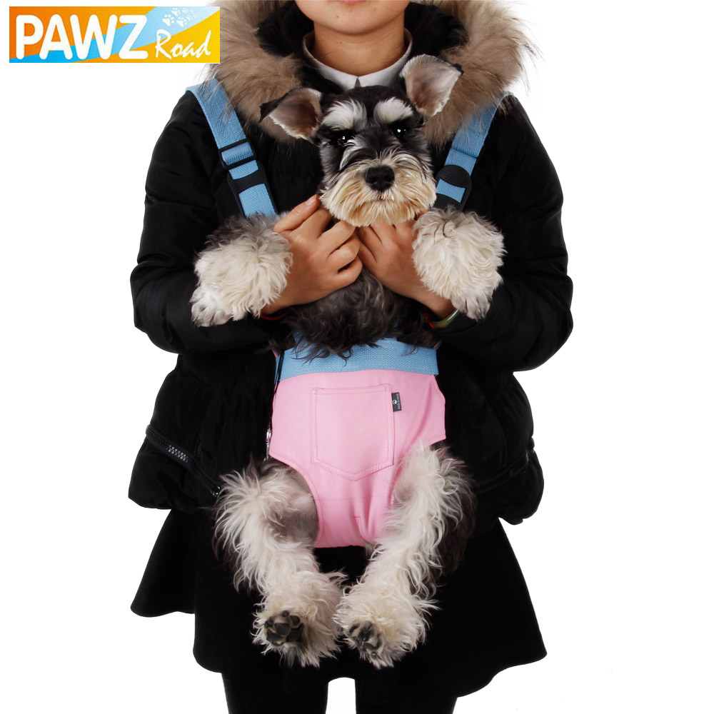 Free Shipping Pet Soft Leather Chest Pack Pet Bag Baby