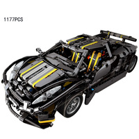Hot 1 15 Scale Future Super Sports Cars Balisong Small Supercas MOC Building Block Collection Model