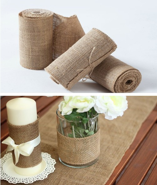 Burlap ribbon crafts burlap ribbon crafts with burlap for Burlap ribbon craft ideas