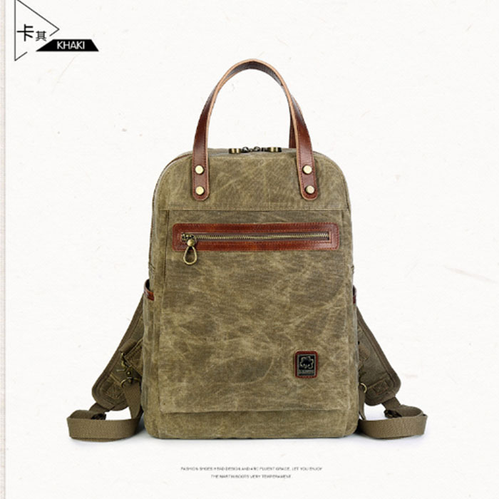 цены Fashion Women/Men Daily Canvas Backpacks Large Capacity Computer Backpack for Laptop Casual Student School Bag Travel Rucksacks