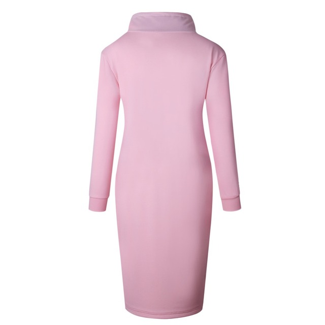 Autumn Winter Long Sleeve Casual Party Dress 5
