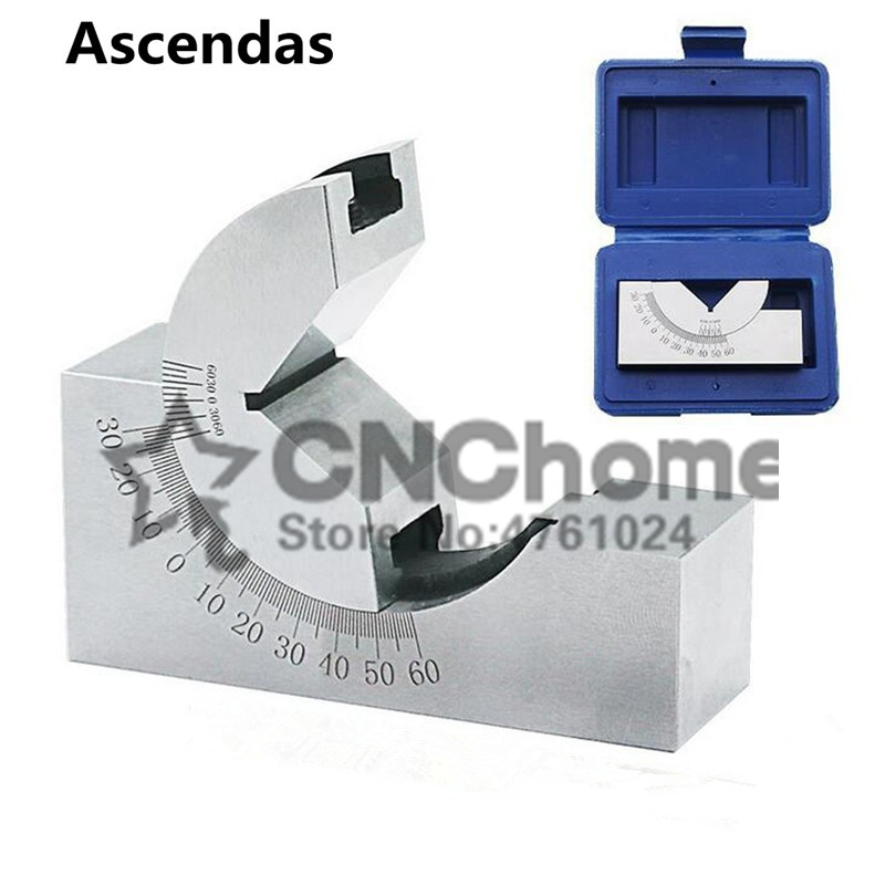 1 PCS AP 46 Precision 0 60 degree angle plate Angle block  angle gauge|Power Tool Accessories| |  - title=
