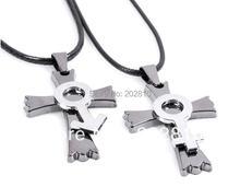Ожерелье из титановой стали с крестом ювелирное изделие подвеской