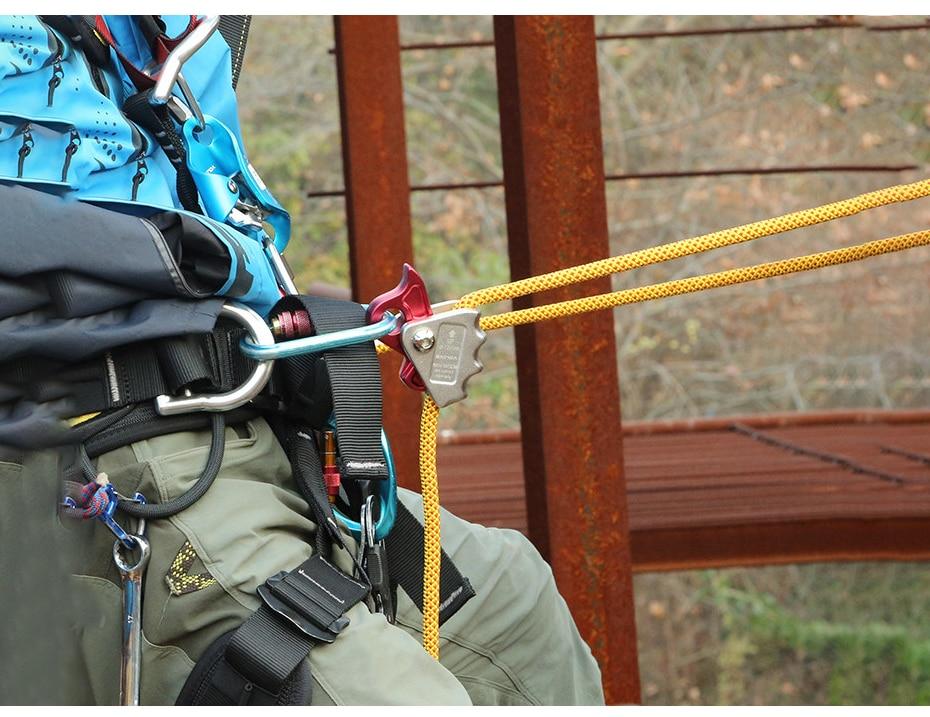 xinda toolsgrip corda dispositivos automático karabiner anti
