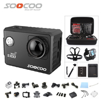 SOOCOO C100 4K Wifi NTK96660 30M Waterproof Action Sports Camera Built In Gyro With GPS Extension