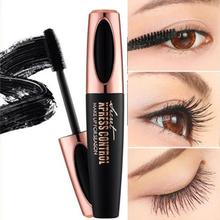 4D Long Curling Black Mascara Waterproof Lasting Korea Eyes Cosmetics With Collagen Extension Natural Eyelash Cream