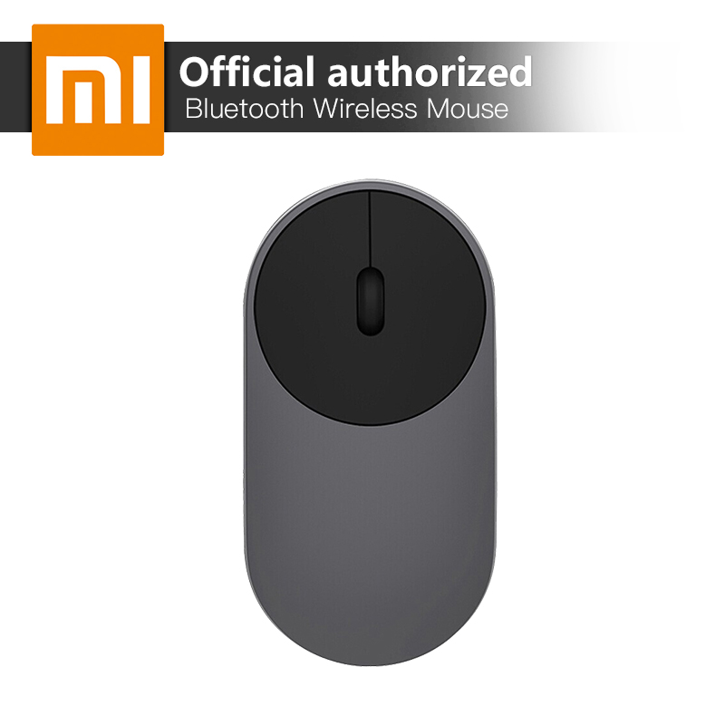 100% Original Xiaomi Mouse Portable Optical Wireless Mouse BT 4.0 RF 2.4GHz Dual Mode