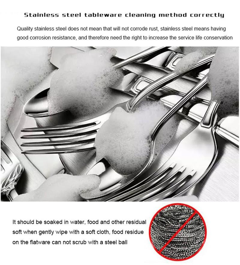 couteau Pcs/Lot fourchette en 14