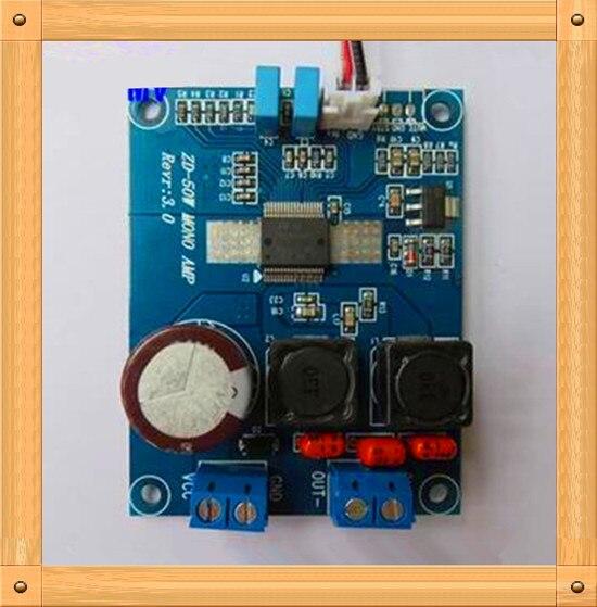 Free Shipping 50w mono digital amplifier board TDA7492MV Class D amplifier board