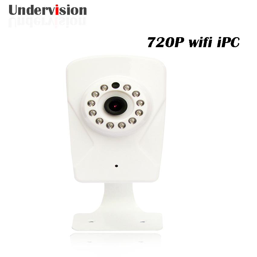 wifi IPC 720P ,1280*720P household Camera ,onvif with allbrand camera free Shipping