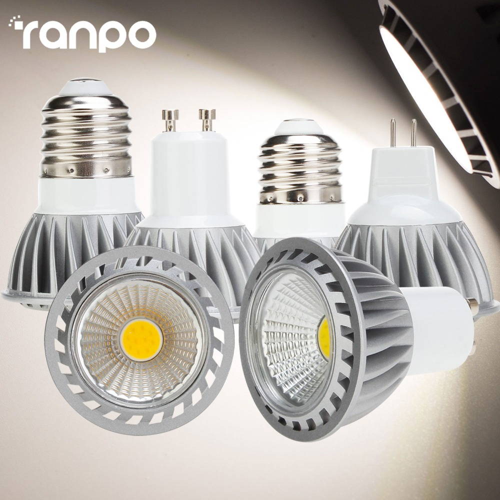 цена на LED lamp Spotlights Light 9W E27 E26 GU10 AC85-265V MR16 DC 12V lampada led lamps Cool White/Warm White/Neutral White Lighting