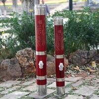 1pcs Hookah oversize red40cm strange tools bamboo hookah water pipe tobacco solid wood