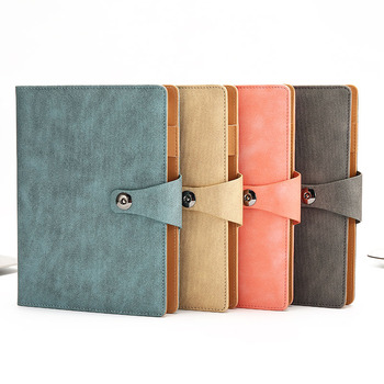 цена на A5 Loose leaf Notebook Creative Business Notebook Handbook Office Stationery Thick Notebook Diary