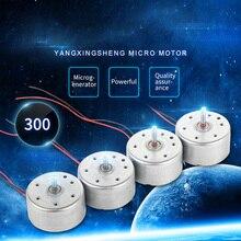 3pcs Micro DC Motors 5V 001A 6200RPM Mini DC motor for DIY Toys Hobbies Smart Car MOTOR 300 Small Motor