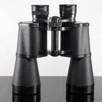Glimmering BAIGISH 10X50 Alta definição Portátil telescópio Binóculos de Visão Noturna de caça campo-óculos
