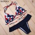 Bandea 2016 swimwear mulheres sexy micro bikinis set bikini brasileiro tanga halter maiô maillot de bain femme ad823 plavky