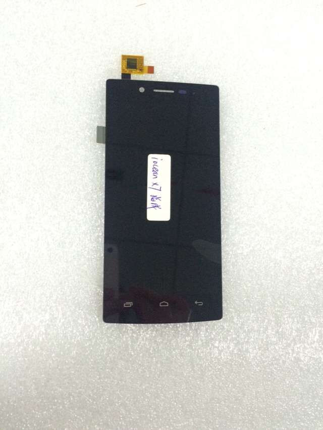 ФОТО High Quality Original New LCD Display with Touch Screen for iocean X7 Elite LCD Screen FHD Good Tested