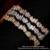 Joyería de Plata esterlina Collar de Gargantilla Mujeres 2016 Brillante Circón Collar Llamativo Vintage Maxi Collar Colar Collier WN010