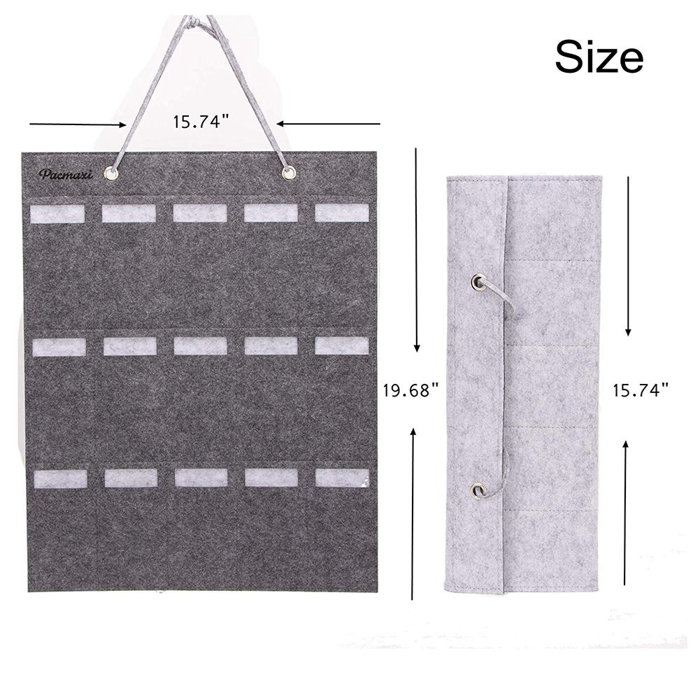 Image 2 - Portable Sunglasses Storage Bag Soft Cloth Hanging Bag Women's Men's Sunglasses Organizer Wall Decoration-in Storage Holders & Racks from Home & Garden