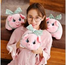 WYZHY New Year Gift Spring Festival Gifts Love Pig Doll Plush Toys Send Friends  30cm