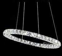 Hot Sale Diamond Ring LED Crystal Chandelier Light Modern Lamp 3 Circles 100 Guarantee DIY Style