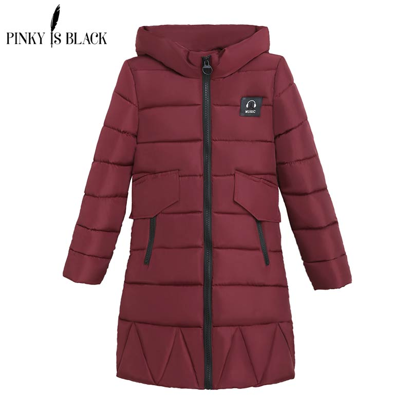 Pinky Is Black New Autumn Winter Coat Women Jacket Long Parkas Woman Clothes Solid Jacket Slim Womens Winter Jackets And Coats