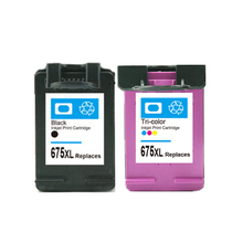 Black & Color Compatible Ink Cartridge For HP 675 xl Для HP675 для hp Officejet 4000 4400 4575 чернил принтера