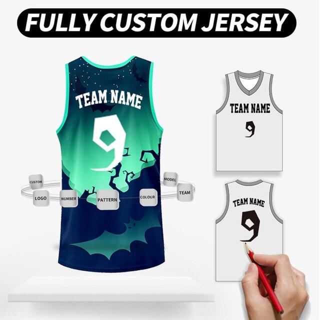 dc073ed9d Full Suit Customized Design Basketball Jerseys Men Women Kids High Quality  Sportswear Polyester DIY