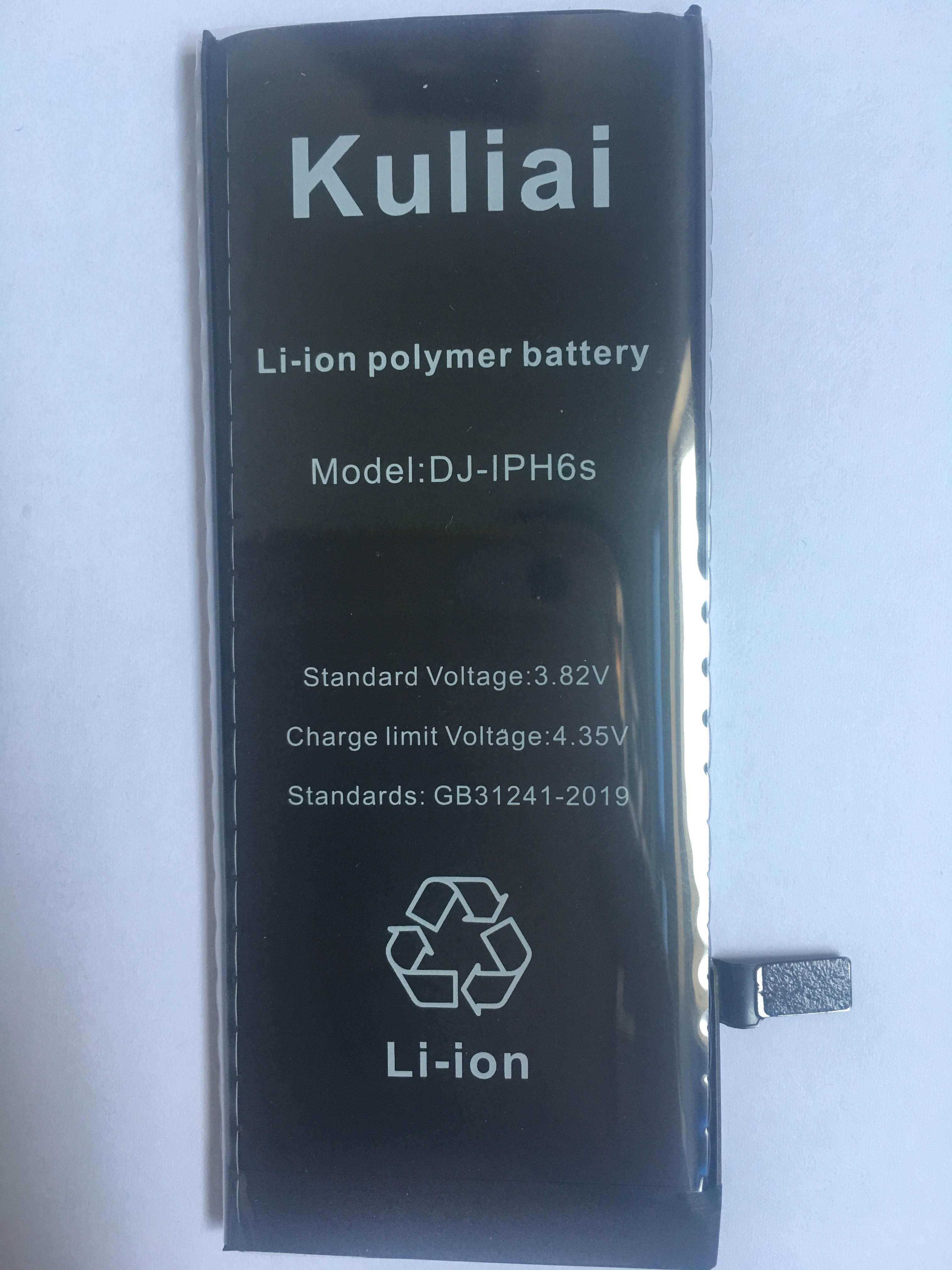 Image 3 - New large capacity 4800MA lithium battery for Apple iPhone 6S 6 7 5S 5 battery replacement built in phone battery + free tools-in Mobile Phone Batteries from Cellphones & Telecommunications