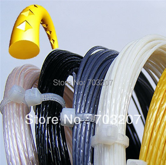 5pcs/lot,12m/pcs ALU Power Rough Tennis String/Spinox 1.25 String/Polyester Strings
