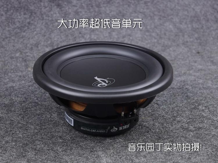 1PCS AIRS New 10inch Subwoofer Speaker Driver Unit Deep Suspension Car Audio Subwoofer 4ohm/150W Fs 28Hz Dia 265mm Round Basket wireless bluetooth speaker led audio portable mini subwoofer