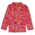 Desgaste de los niños ropa de 2016 nova baby girl manga larga floral chinesne muchacha del estilo camiseta de los niños arropa nuevo diseño barato venta