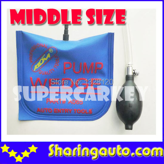 Free shipping Klom Middle Size Air bag With Blue Colour 1 piece quality guarantee yellow matte vinyl wrap film foil car sticker with air bubble free fedex free shipping size 1 52 30m roll