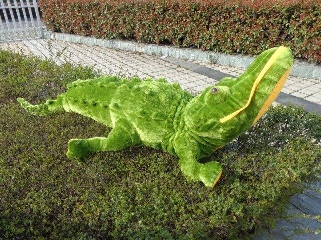 new simulaiton plush crocodile toy stuffed crocodile pillow gift about 120cm 0415 stuffed animal 160cm crocodile plush toy simulation crocodile doll gift w0258