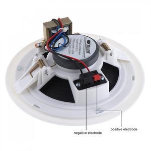 Image 5 - 벽걸이 형 천장 스피커 배경 음악 시스템 3D 스테레오 사운드 Hifi DJ 사운드 바 TV 스피커 공용 방송 라우드 스피커