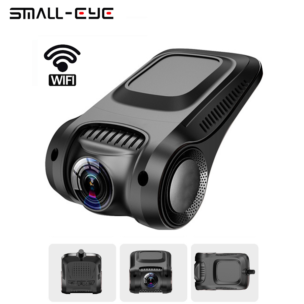 Novatek 96655 Dash Camera WiFi Full HD 1080P Car DVR Dashcam without Screen 170 Degree Video Camera Recorder with Night Vision conkim novatek 96655 dvr dash cam camera wifi gps auto registrar 1080p full hd video recorder 24h parking guard mini 0903 nanoq