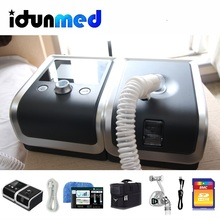 BMC Auto CPAP Machine Reslex Travel Portable With Airing Nasal Pillow Mask Hose Bag Breathing Apparatus For Sleep Apnea Therapy