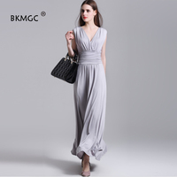 2017 New Arrival Dresses Empire Symmetry Women Sexy Party Dress Special Occasion Dresses Feminine V Neck