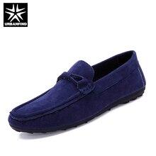 URBANFIND Летние Вождения Обувь Мужчины Повседневная Лодка Обувь EU 39-44 Дышащий Мужской Обуви Мокасины Мужские Мокасины Мягкая Обувь