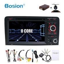 OCTA CORE Android 8.1 AUTOMOBILE DVD GPS Per Audi A3 2006-2011 con lettore dvd radio stereo Audio auto schermo multimediale di navigazione BT