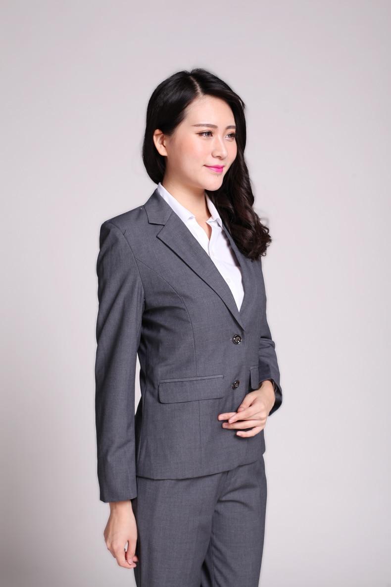 Womens Dark Grey Suit | My Dress Tip