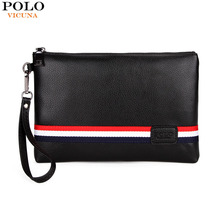 Fashion Brand for Men Handbags PU Leather Mens Wallet Long Business Famous Wallets