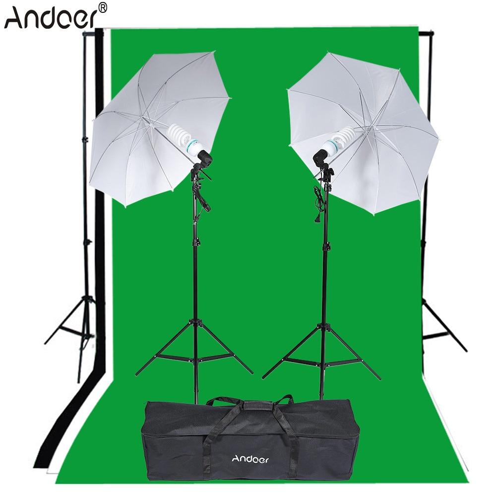 andoer photo video equipement photographie kit d eclairage studio portrait produit lumiere tente ensemble photo studio kit