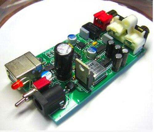 Livraison gratuite!!! TE7022 transfert USB coaxial + sortie audio directe 24BIT-96KHZ/composant électronique