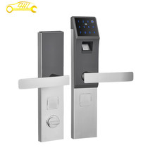 Smartphone Control lock android and ios supported Low Energy Smart Lock With Left Handle 2016 Hot Sale by DHL Free Shipping
