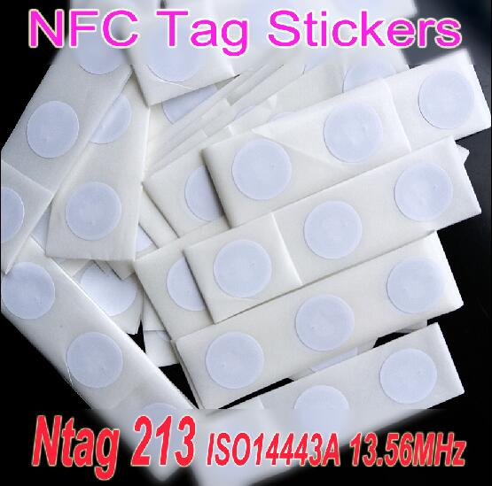 50pcs Ntag213 NFC Tag Sticker 13.56MHz ISO14443A Ntag 213 NFC Sticker Tag Universal Lable RFID Tag for all NFC enabled phones 10pcs nfc tag sticker 13 56mhz iso14443a ntag 213 nfc stickers universal lable ntag213 rfid tag for all nfc phones