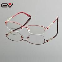 2015 New Design Eyeglasses Frame High Quality Brand Optical Frames Eyeglass Semi Frame Glasses Wholesale Retail
